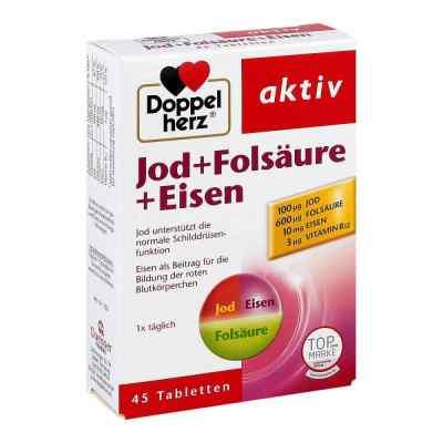 Doppelherz Jod + Folsäure + Eisen Tabletten  bei juvalis.de bestellen