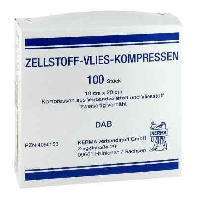 Zellstoff Vlies Kompressen 10x20cm unsteril  bei juvalis.de bestellen