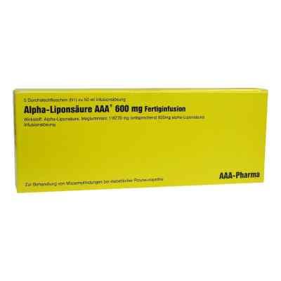 Alpha Liponsäure Aaa 600 mg Injektionsflaschen  bei juvalis.de bestellen