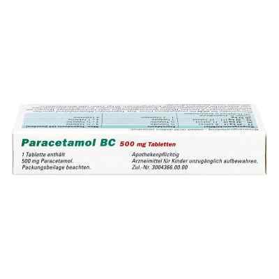 Paracetamol BC 500mg  bei juvalis.de bestellen