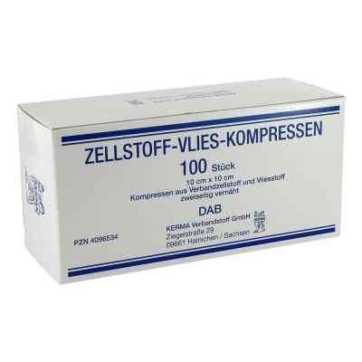 Zellstoff Vlies Kompressen 10x10cm unsteril  bei juvalis.de bestellen