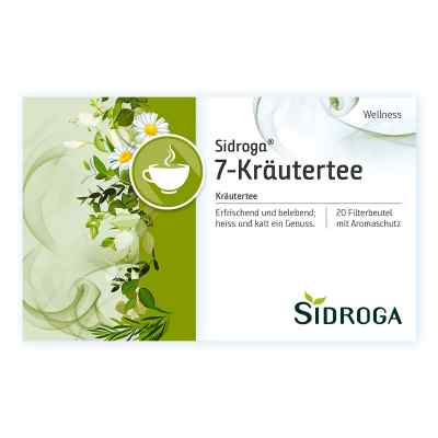 Sidroga Wellness 7-Kräutertee Filterbeutel  bei juvalis.de bestellen