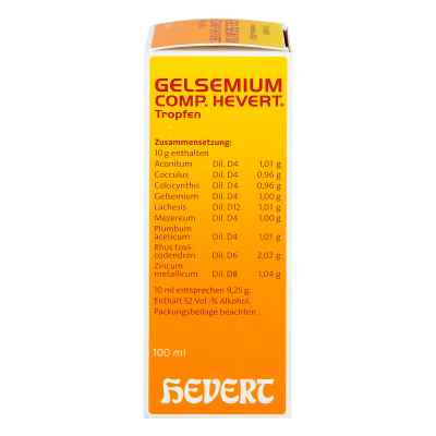 Gelsemium Comp. Hevert Tropfen  bei juvalis.de bestellen