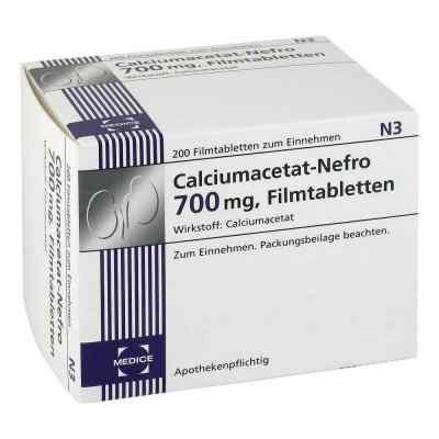 Calciumacetat Nefro 700 mg Filmtabletten  bei juvalis.de bestellen