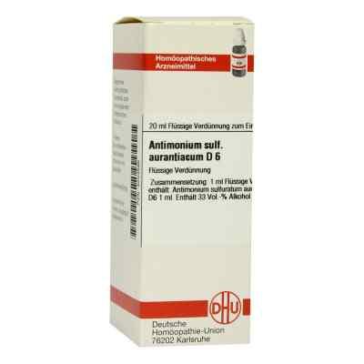 Antimonium Sulf. Aurant. D6 Dilution  bei juvalis.de bestellen