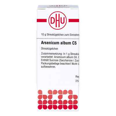 Arsenicum Album C5 Globuli  bei juvalis.de bestellen