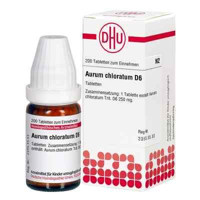 Aurum Chloratum D6 Tabletten  bei juvalis.de bestellen