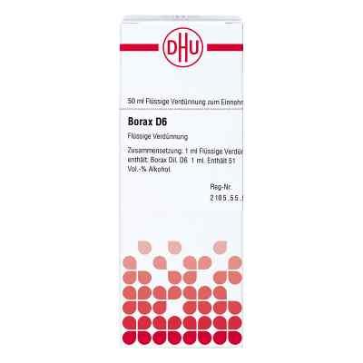 Borax D6 Dilution  bei juvalis.de bestellen