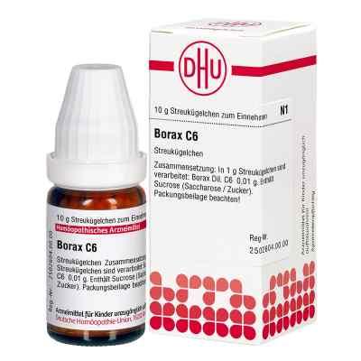 Borax C6 Globuli  bei juvalis.de bestellen