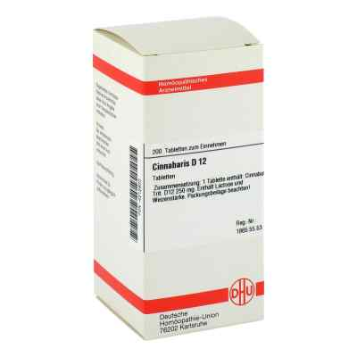 Cinnabaris D12 Tabletten  bei juvalis.de bestellen