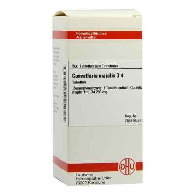 Convallaria Majalis D4 Tabletten  bei juvalis.de bestellen