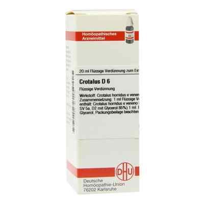 Crotalus D6 Dilution  bei juvalis.de bestellen