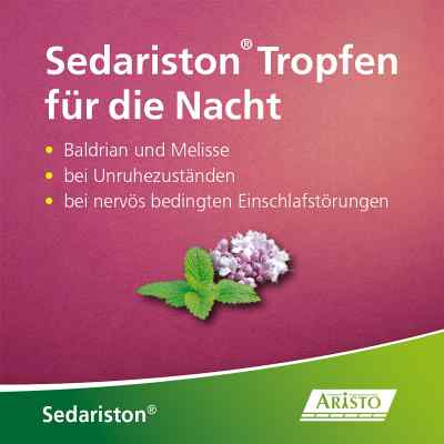 Sedariston Tropfen für die Nacht Baldrian + Melisse  bei juvalis.de bestellen