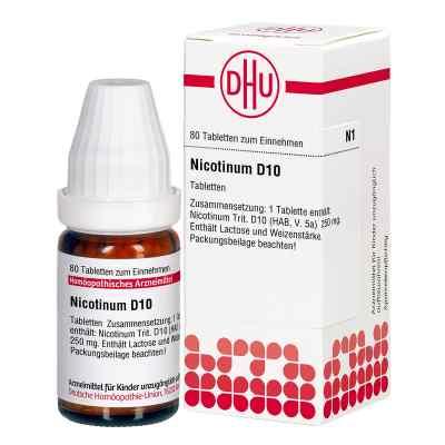 Nicotinum D10 Tabletten  bei juvalis.de bestellen