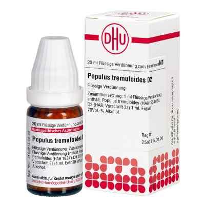 Populus Tremuloides D2 Dilution  bei juvalis.de bestellen
