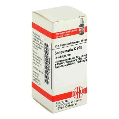 Sanguinaria C 200 Globuli  bei juvalis.de bestellen