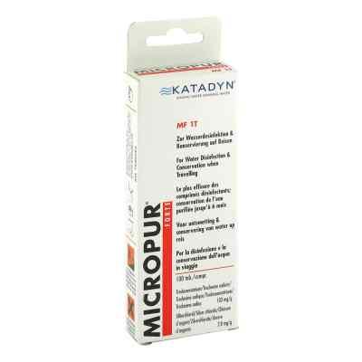 Micropur forte Mf 1t Tabletten  bei juvalis.de bestellen