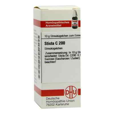 Sticta C 200 Globuli  bei juvalis.de bestellen