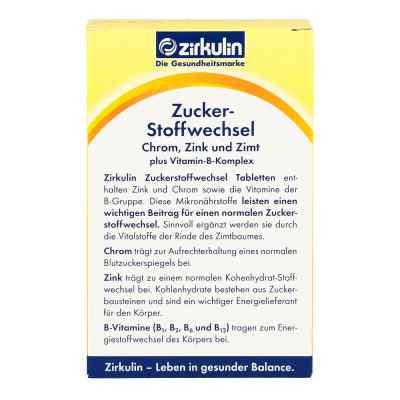 Zirkulin Zuckerstoffwechsel Zimt Plus Tabletten  bei juvalis.de bestellen