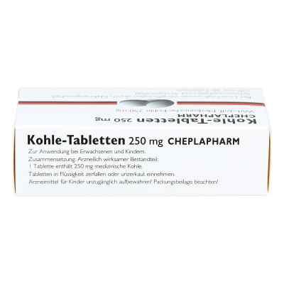 Kohle-Tabletten 250mg  bei juvalis.de bestellen