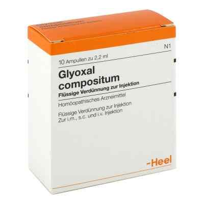Glyoxal compositum Ampullen  bei juvalis.de bestellen