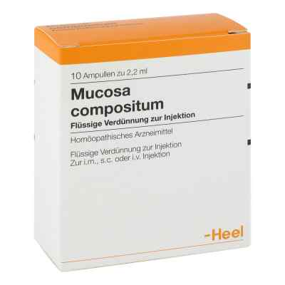 Mucosa Compositum Ampullen  bei juvalis.de bestellen
