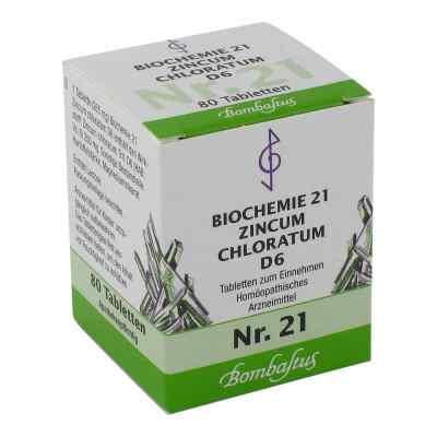 Biochemie 21 Zincum chloratum D6 Tabletten  bei juvalis.de bestellen