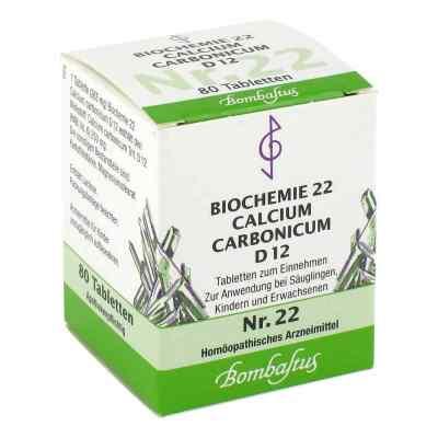 Biochemie 22 Calcium carbonicum D12 Tabletten  bei juvalis.de bestellen