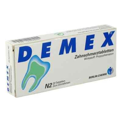 DEMEX Zahnschmerztabletten  bei juvalis.de bestellen