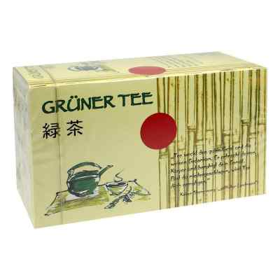 Grüner Tee Filterbeutel  bei juvalis.de bestellen