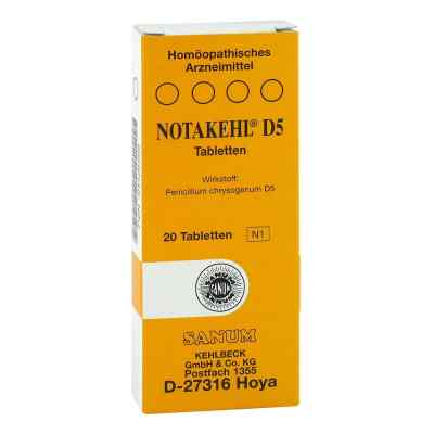 Notakehl D5 Tabletten  bei juvalis.de bestellen