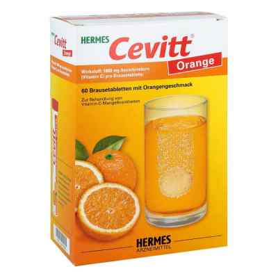 Hermes Cevitt Orange Brausetabletten  bei juvalis.de bestellen