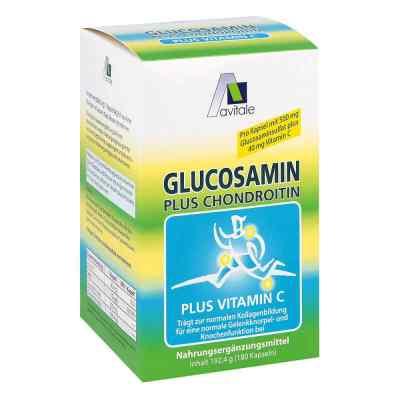 Glucosamin 500 mg+Chondroitin 400 mg Kapseln  bei juvalis.de bestellen