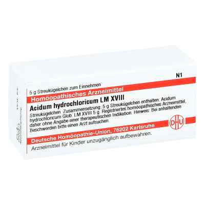 Lm Acidum Hydrochlor. Xviii Globuli  bei juvalis.de bestellen
