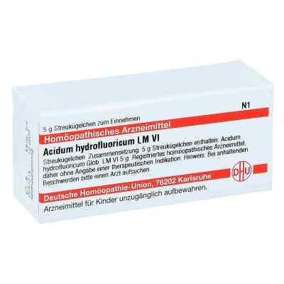 Lm Acidum Hydrofluor. Vi Globuli  bei juvalis.de bestellen