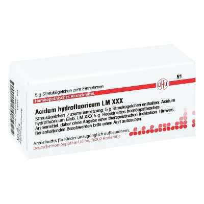 Lm Acidum Hydrofluor. Xxx Globuli  bei juvalis.de bestellen