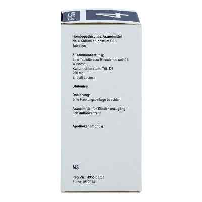 Biochemie Orthim 4 Kalium chloratum D6 Tabletten  bei juvalis.de bestellen
