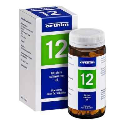 Biochemie Orthim 12 Calcium sulfuricum D6 Tabletten  bei juvalis.de bestellen