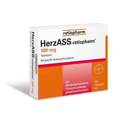 HerzASS-ratiopharm 100mg  bei juvalis.de bestellen