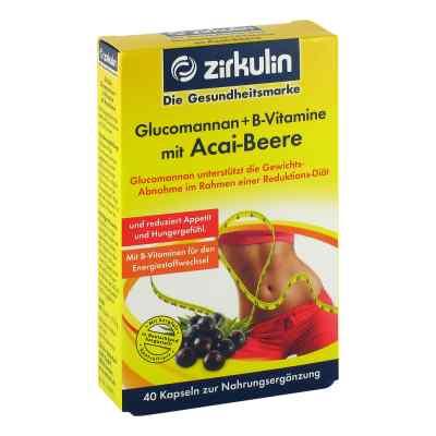 Glucomannan + B-vitamine mit Acai-beere Kapseln  bei juvalis.de bestellen