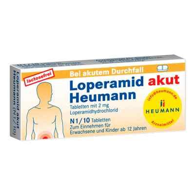 Loperamid akut Heumann  bei juvalis.de bestellen