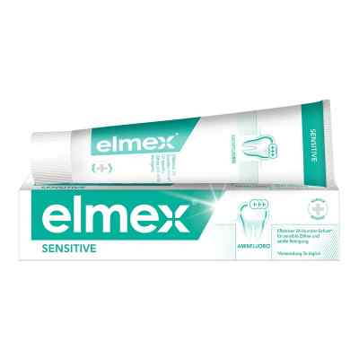 Elmex Sensitive Zahnpasta mit Faltsch.  bei juvalis.de bestellen