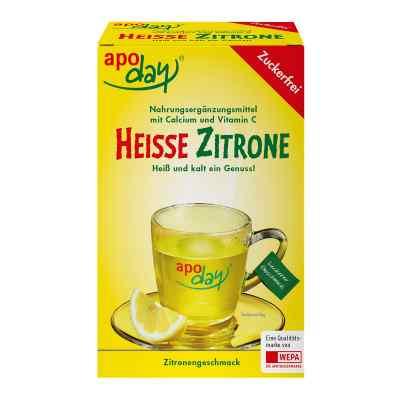 Apoday Heisse Zitrone Vitamine c und Calcium ohne Zucker Plv  bei juvalis.de bestellen