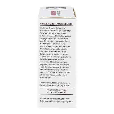 Multi-gyn Kompressen für Wohlbefinden im Analbereich  bei juvalis.de bestellen