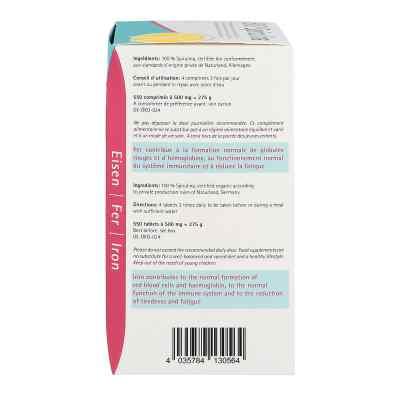 Spirulina 500 mg Bio Naturland Tabletten  bei juvalis.de bestellen