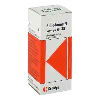 Synergon 38 Belladonna N Tropfen  bei juvalis.de bestellen