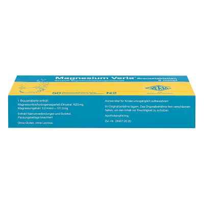 Magnesium Verla Brausetabletten  bei juvalis.de bestellen