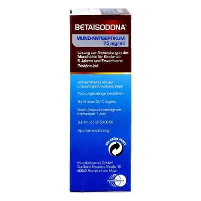 Betaisodona Mund-Antiseptikum  bei juvalis.de bestellen