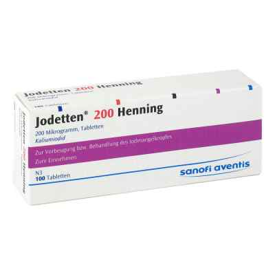 Jodetten 200 Henning 200 Mikrogramm  bei juvalis.de bestellen