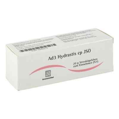 Jso Jkh Adermittel Ad 3 Hydrastis cp Globuli  bei juvalis.de bestellen